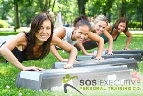 SOS Personal Training at Fitness First - Ten Group Boot Camp Sessions for £10 - Save 90%