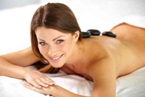 Brown Cow Salon - Hot Stone Massage With Facial - Save 66%