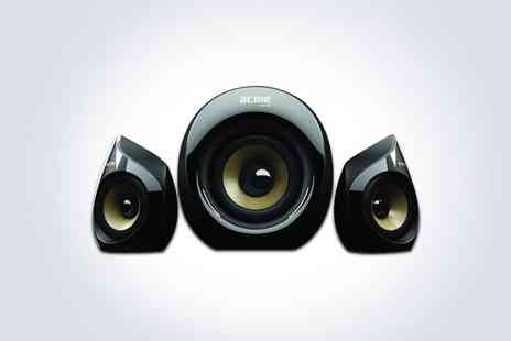 Electro Tycoon -  One Acme SS 206 12W 2.1 speaker system - Save 47%