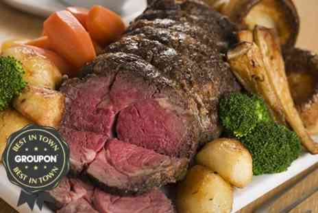 The Bull at Towcester - Rib of Beef For Two - Save 51%