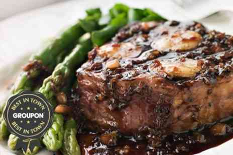 No.19 Restaurant - Steak Meal With Sides - Save 52%