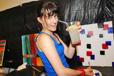 Paint Jam - Paint Jam Workshop With Bar and DJ - Save 53%