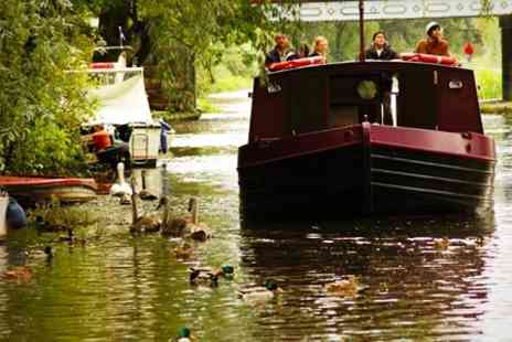 Re Union Canal Boats - Two Hour Trip For Two With Refreshments - Save 30%