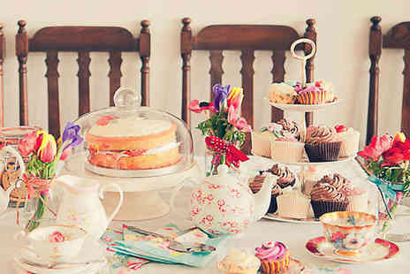 Cupcake Boutique - Cupcake Afternoon Tea for Two - Save 50%