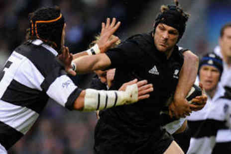 Barbarian FC -  Barbarians vs. Fiji Rugby Union Match Ticket - Save 31%
