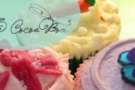 The Cocoa Box - Two Hour Cupcake Decoration Class - Save 52%