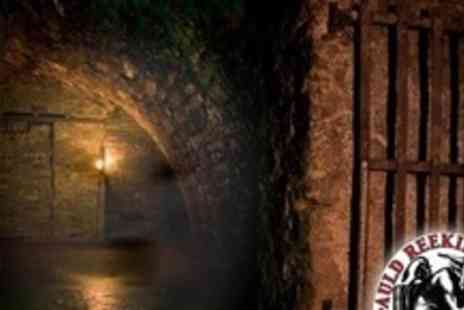 Auld Reekie Tours - Ghost and Torture, Underground Tour or Historical Underground Tour - Save 60%