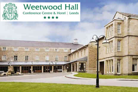 Weetwood Hall - Celebrate the festive season in style Christmas Party Night  - Save 50%