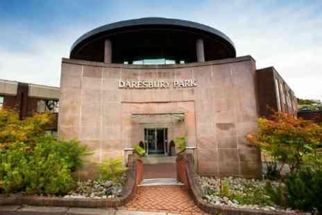 Daresbury Park - In Cheshire One Night For Two With Dinner Breakfast and Spa Access - Save 44%