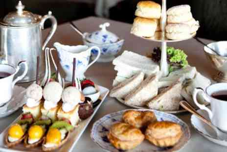 The Walled Garden at the Barton Grange Hotel - Champagne Afternoon Tea for 2 - Save 41%