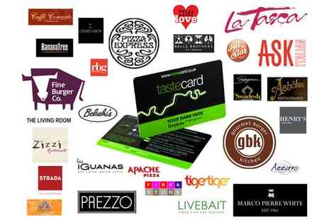 Taste Marketing - 12 Month tastecard Membership - Save 50%