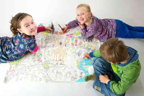 Really Giant Posters - Kids Colouring In Posters - Save 50%