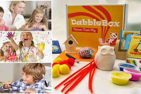 vDabble - kids dabble box To start some dabble fun with this Halloween themed box - Save 42%