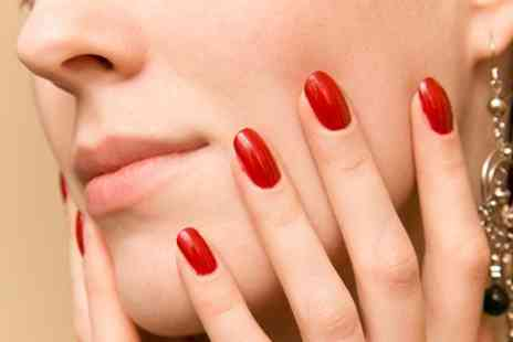 Beauty Escape - Shellac manicure and pedicure - Save 72%