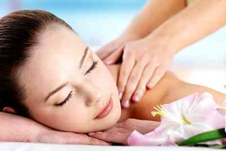 Barbican Hair and Beauty - One Hour Massage and Pedicure Session - Save 55%