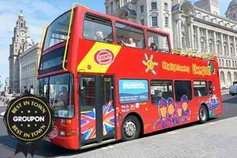 City Sightseeing Liverpool - Family Tour - Save 63%