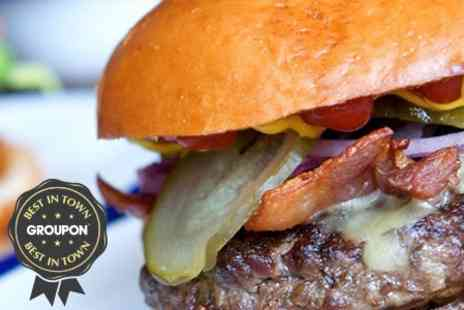 One Beaufort - Burger and Beer for Two - Save 56%