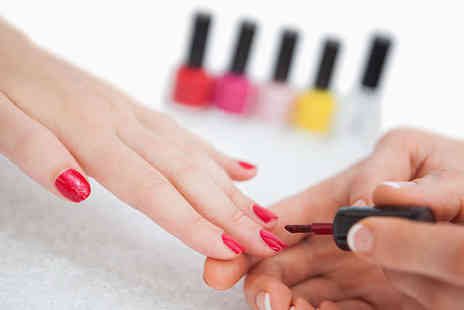 Hollywood Tanning Salons - Shellac Gel Overlay Manicure - Save 52%