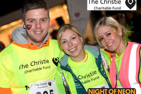 The Christie Charity - Entry to Night of Neon Charity Walk for One Child - Save 50%
