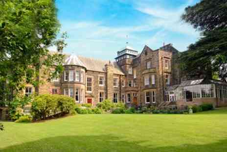 Makeney Hall Hotel - Derbyshire Victorian Country Mansion Stay with Meals - Save 36%