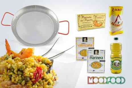 The Mood Food Company - Get creative in the kitchen with a paella meal kit - Save 50%