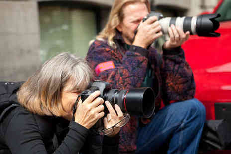 Aidan O Rourke - Three Hour Photography Tour in City Centre with Goody Bag - Save 66%