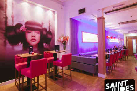 Mamasan at Saint Judes - Two Course Pan Asian Meal with Cocktails for Two - Save 52%