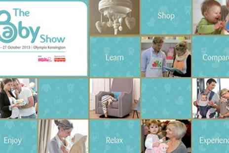 The Baby Show - Single Ticket to the UKs Leading Pregnancy and Parenting event - Save 50%