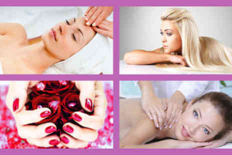 The Pamper Parlour - 2.5 Hr Pamper and Glam Package Collagen Facial Swedish Massage - Save 55%