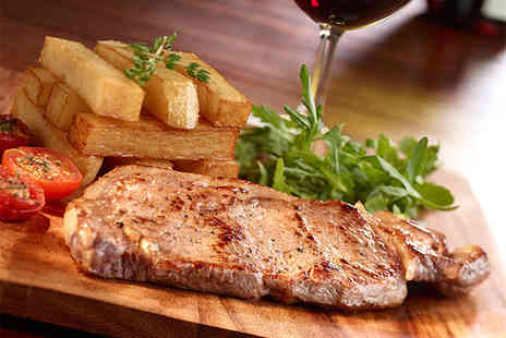 The Swan Inn - Steak dinner for 2 including a glass of Prosecco - Save 46%