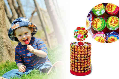 Party Must Haves - Chupa Chups lollies wheel contains 200 assorted fruit lollipops - Save 34%