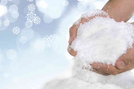 Party Must Haves - Get into the festive spirit with this festive magic snow - Save 80%