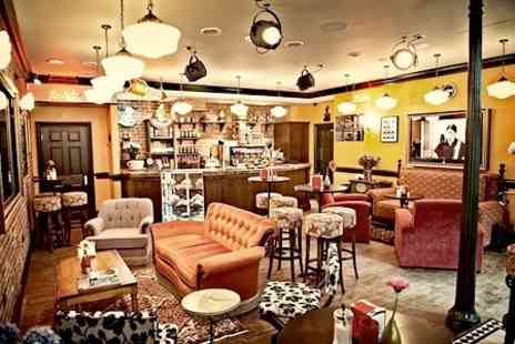 Central Perk Chester - Coffee and American Waffles or Cake For Two - Save 53%