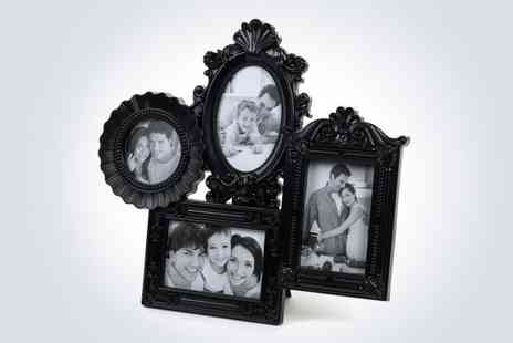 Salco - Elegantly display your favourite snaps with  picture frame in black - Save 50%