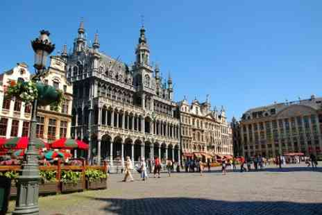 Short Breaks - In Brussels Two Nights With Breakfast and Eurostar Tickets For Two - Save 28%