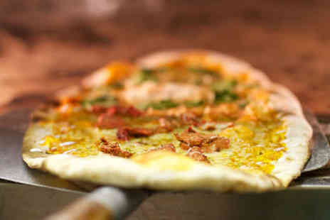 Vespbar - Starter Each Pizza to Share and Comedy Ticket Each for Two - Save 80%