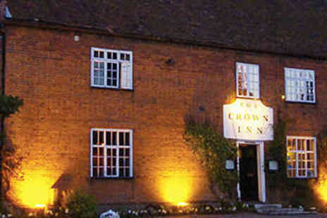 The Westleton Crown - Gourmet Cuisine and Crackling Log Fires - Save 46%