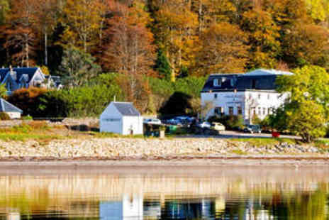 The Onich Hotel - A Cosy Loch Side Nest in the Highlands - Save 50%