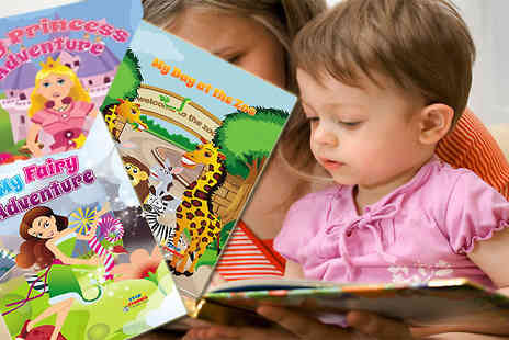 Star Stories - Child be part of a wonderful fantasy world with these personalised character story books - Save 50%