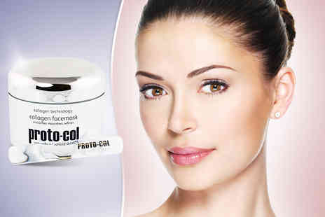 Proto Col - 100ml collagen face mask get gorgeous skin - Save 62%