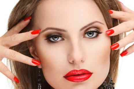 Gloss & Glow Glamour Lounge - Shellac Manicure or Pedicure - Save 55%