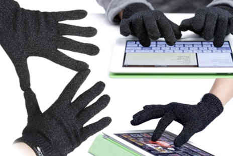 RedHotDealz - Fingers nice and toasty with a pair of Touchscreen Gloves - Save 70%