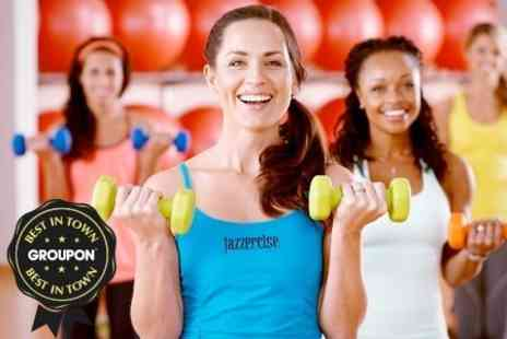 Jazzercise - Dance based cardio workout Ten Classes - Save 73%