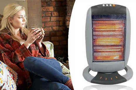 Onevolution - Let the cold weather stop you getting out of bed with this halogen portable heater - Save 52%