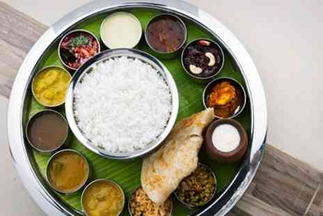 Ashoka Shak Dundee - Three Course Indian Thali With Drinks For Two - Save 51%
