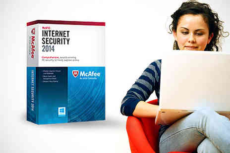 SRE Computing - McAfee Internet Security Suite 2014 for up to Three Users - Save 76%