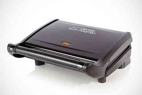 BuyMOBY - George Foreman Family Grill or George Foreman Compact Grill - Save 47%