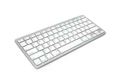 Tanning & Beauty World - Mac Style Bluetooth Keyboard - Save 61%