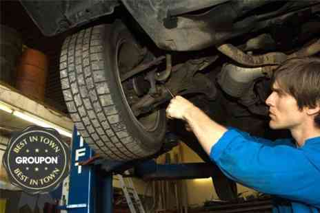 Arnold Garage - 54 Point Winter Car Service With Oil Change Plus Mini Valet - Save 20%