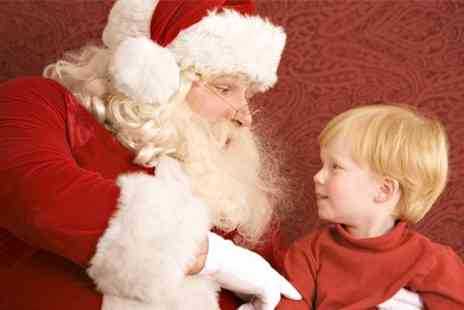 Cheeky Parties - Santas Grotto With Present For Child and Adult - Save 50%